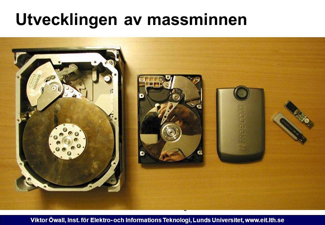 Viktor Öwall, Inst. för Elektro- och Informations Teknologi, Lunds Universitet, www.eit.lth.se 2006-11-16ETI 125 - Föreläsning 1146 Utvecklingen av ma