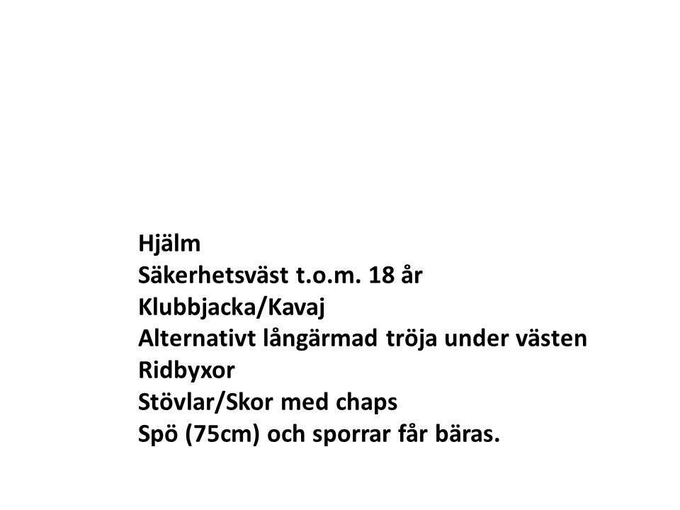 Hjälm Säkerhetsväst t.o.m.