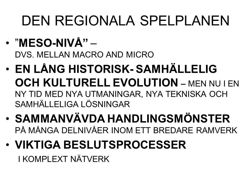 TRANSFORMATIONS INTRESSET TRYCKET FRÅN KLIMAT OCH ANDRA MILJÖFAKTORER .