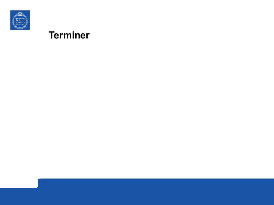 Terminer