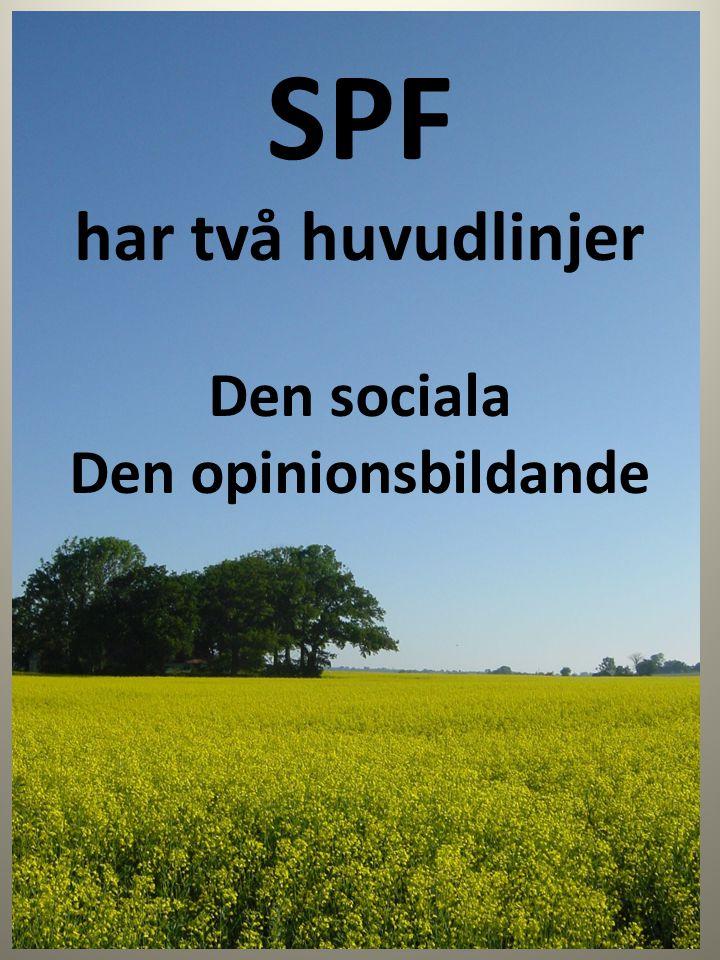 SPF-dagen 2013 Fredagen den 24 maj Över hela Skåne
