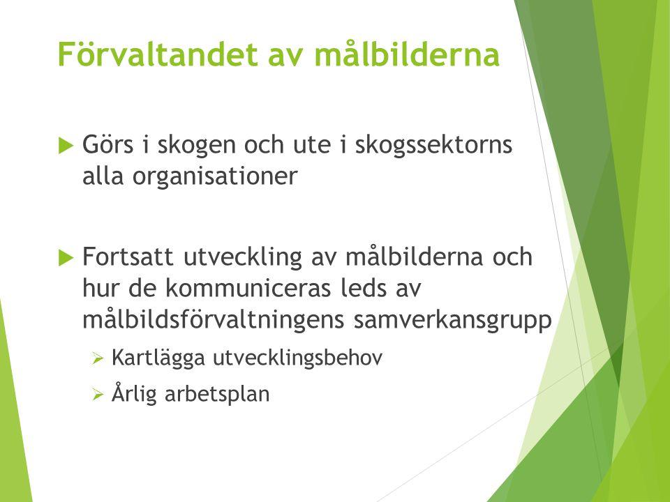 Samverkansgruppen för förvaltning av målbilder för god miljöhänsyn Oskar.