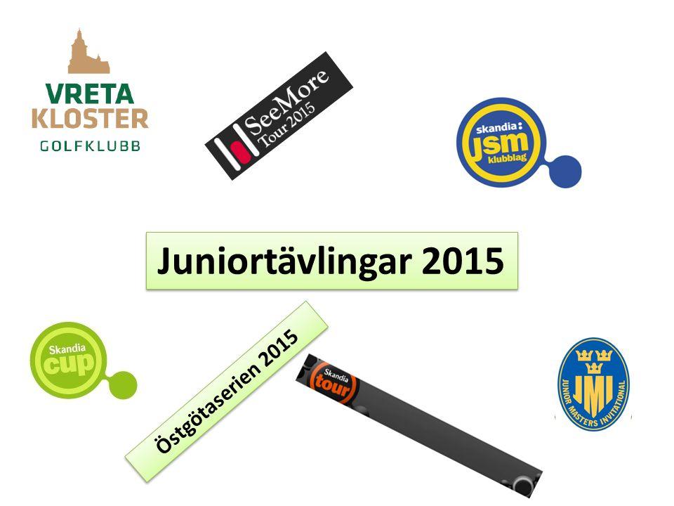 Juniortävlingar 2015 Östgötaserien 2015