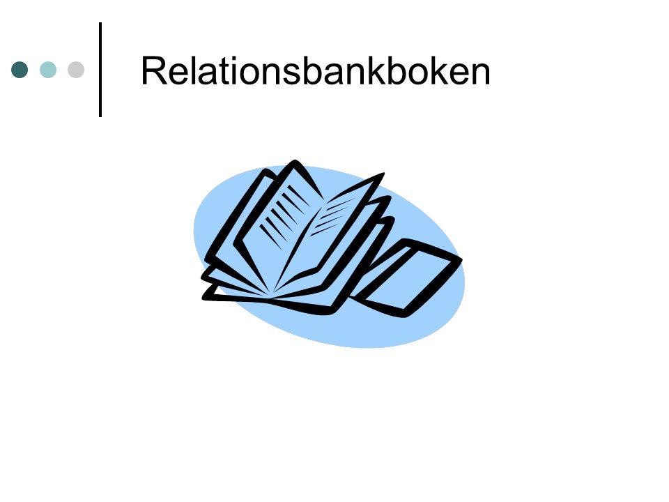 Relationsbankboken