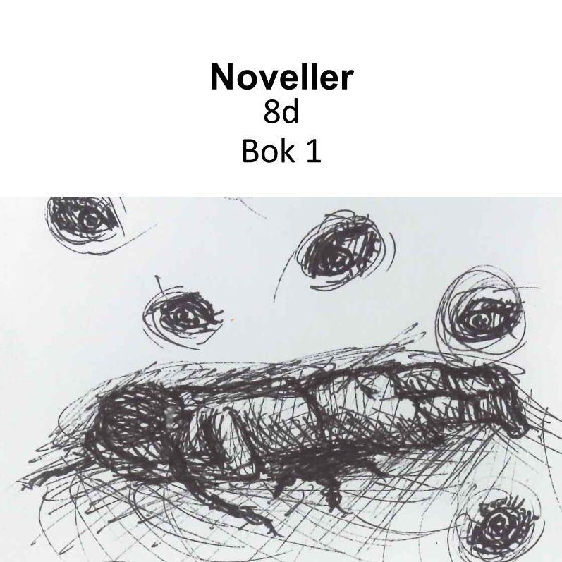 Antologi med noveller av 8d Eriksdalsskolan Bok 1 av 3 Framsidebild av Carolina Falk Olivera Klassen har under läsåret 2014/15 arbetat med att skriva noveller på svenskan och jobbat med illustrationer på bilden.