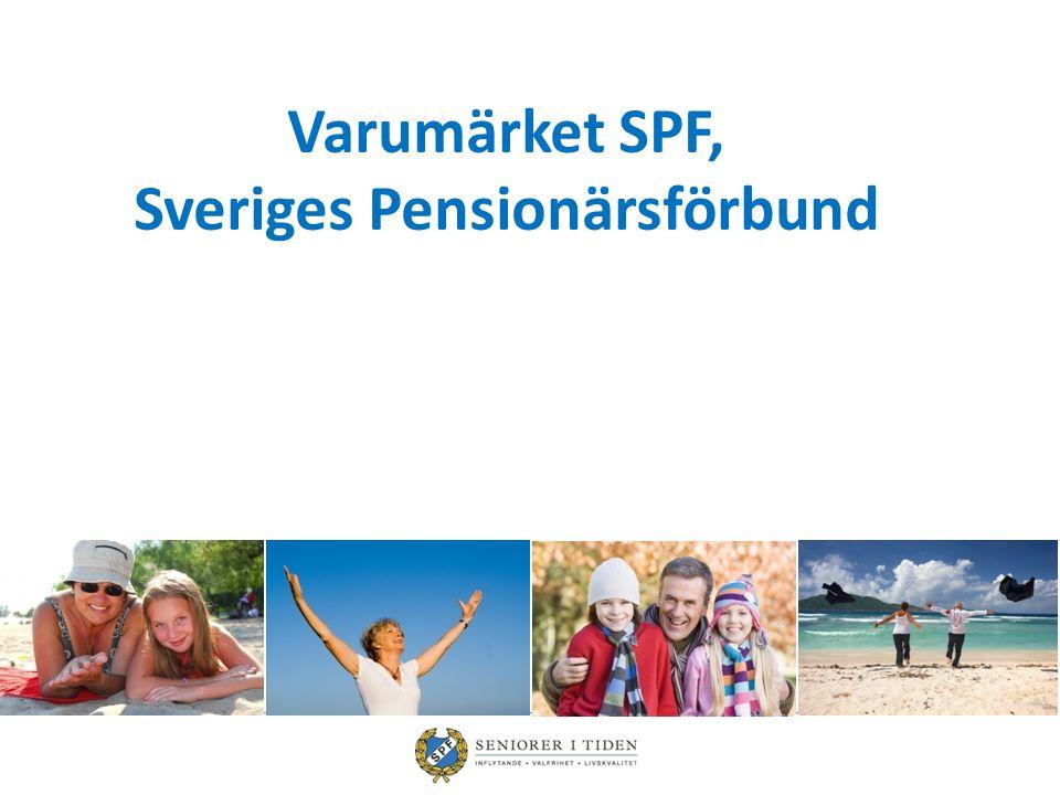 Varumärket SPF, Sveriges Pensionärsförbund