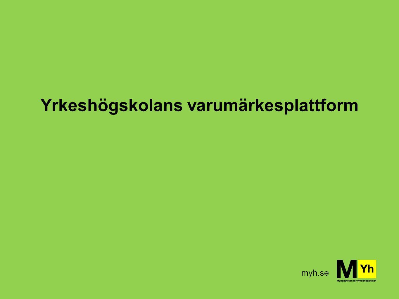 myh.se Yrkeshögskolans varumärkesplattform