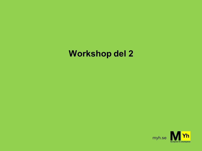 myh.se Workshop del 2