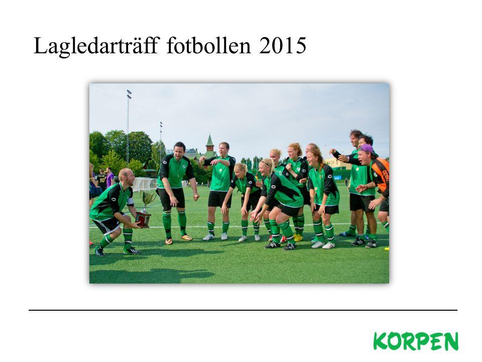 Lagledarträff fotbollen 2015