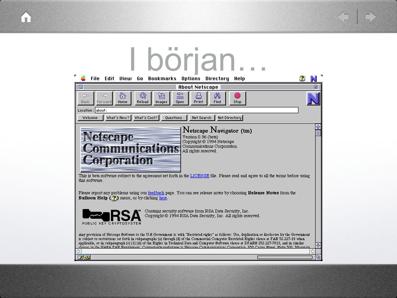 Syntax body { background-color: #ddf; font-family: verdana, arial, sans-serif; margin-left: 30px; margin-top: 20px; } p { margin-bottom: 20px; } Taggnamn EgenskapVärde
