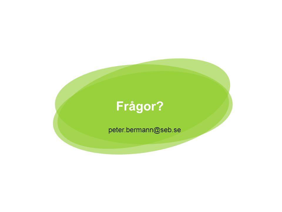 15 peter.bermann@seb.se Frågor