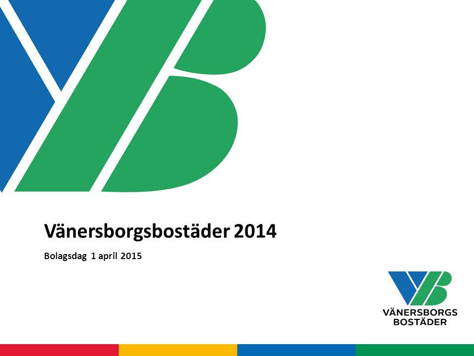 Vänersborgsbostäder 2014 Bolagsdag 1 april 2015