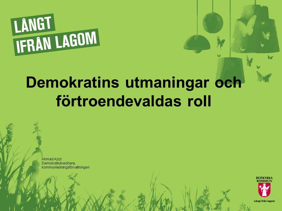 Ungas syn på demokrati är en utmaning  Var femte ung svensk mellan 18 och 29 år kan tänka sig att sälja sin röst för en mindre summa pengar.