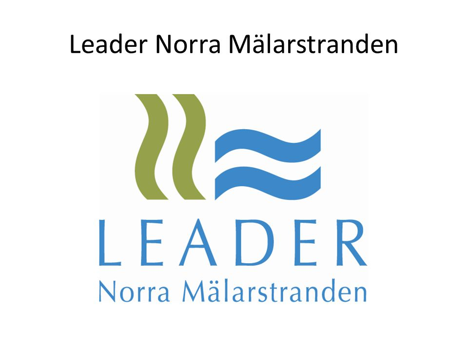 Leader Norra Mälarstranden