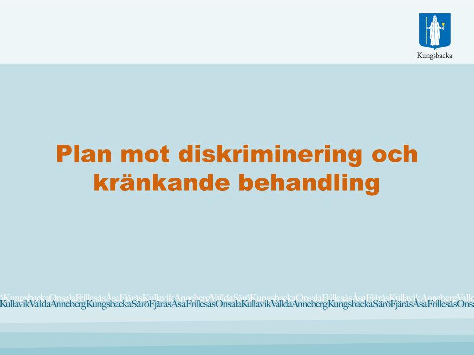 Plan mot diskriminering och kränkande behandling