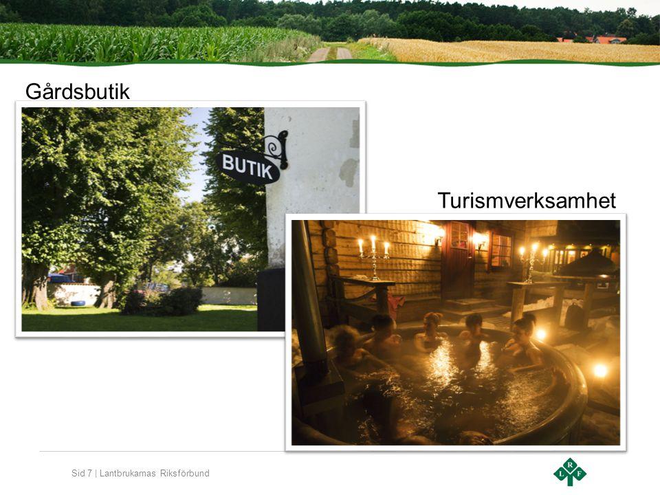 Sid 7 | Lantbrukarnas Riksförbund Turismverksamhet Gårdsbutik