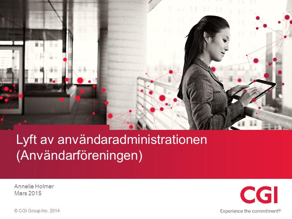 Ny ingång till Sök i användaradministrationen 2 Det nya menyvalet visas endast för de användare som har behörighet till användaradministrationen.