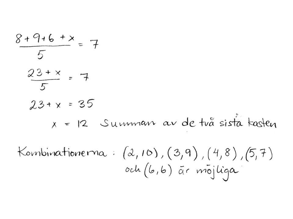 Göra tabell: 0 1 234567 (12)(11)109876…