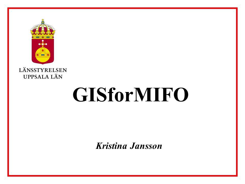 Kristina Jansson GISforMIFO