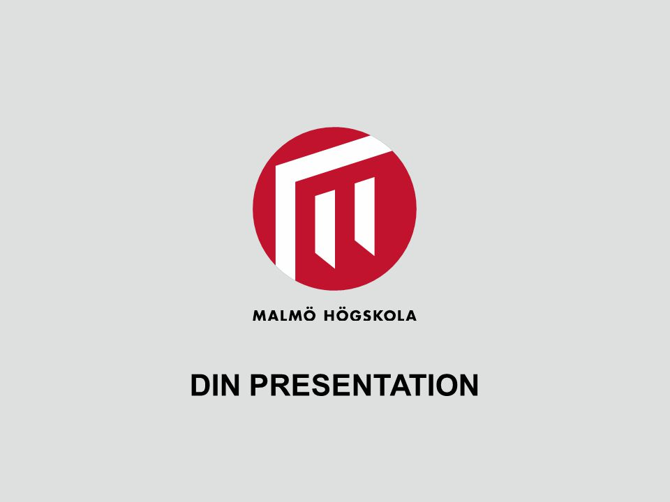DIN PRESENTATION