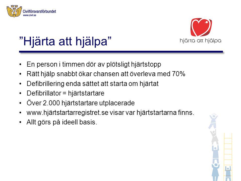 Akutgruppen finns till hands vid evenemang där det behövs beredskap för olycksfall Akutgruppen kan ta hand om allt från skavsår till hjärtstopp Civilförsvarsförbundets akutgrupper finns än så länge i följande län: Örebro, Värmland, Östergötland, Västra Götaland, Blekinge och Skåne.