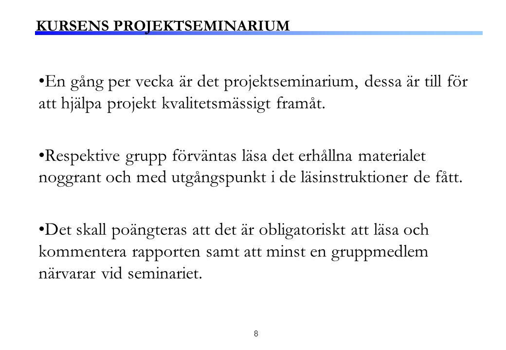19 Den strategiska analysen som tillställs styrelsen skall innefatta ett antal delar.