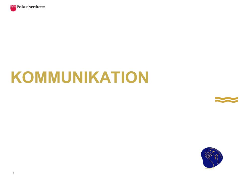 Kommunikation med andra människor Kroppsspråket 65% betydelse Rösten 30% betydelse Orden 5% betydelse 2