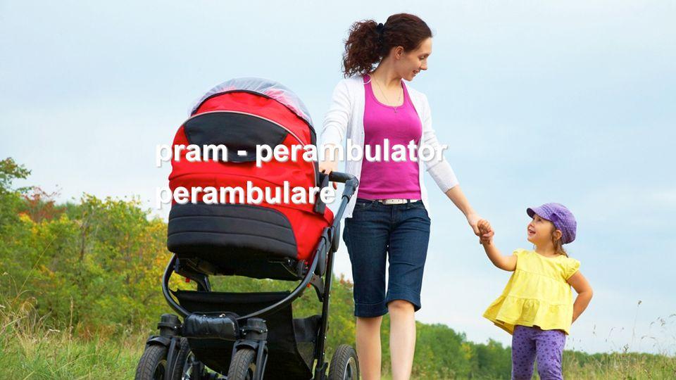 pram - perambulator perambulare