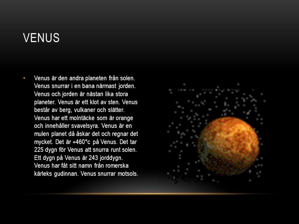 Jupiter är den största planeten och femte planeten i vårat solsystem.