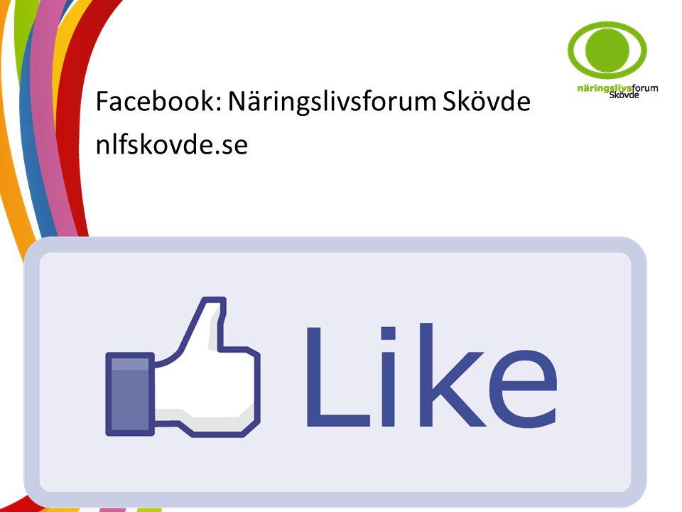 Facebook: Näringslivsforum Skövde nlfskovde.se