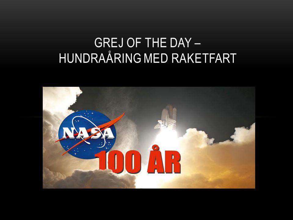 VAD ÄR NASA.