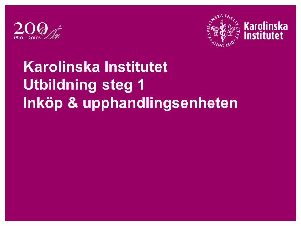Introduktion till Offentlig upphandling Grundläggande principer  Öppenhet/transparens  Likabehandling  Proportionalitet  Ickediskriminering  Ömsesidigt erkännande