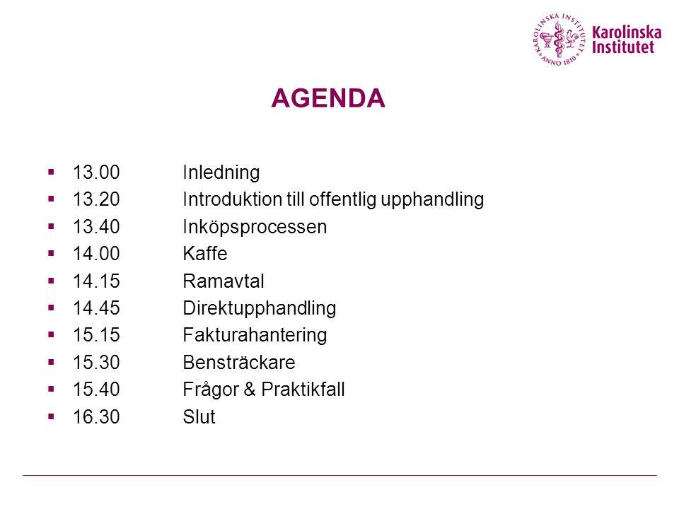 Introduktion Offentlig Upphandling  Upphandlingsskadeavgift  På talan av tillsynsmyndigheten  Upp till 10 000 000 SEK  Max 10% av kontraktsvärdet