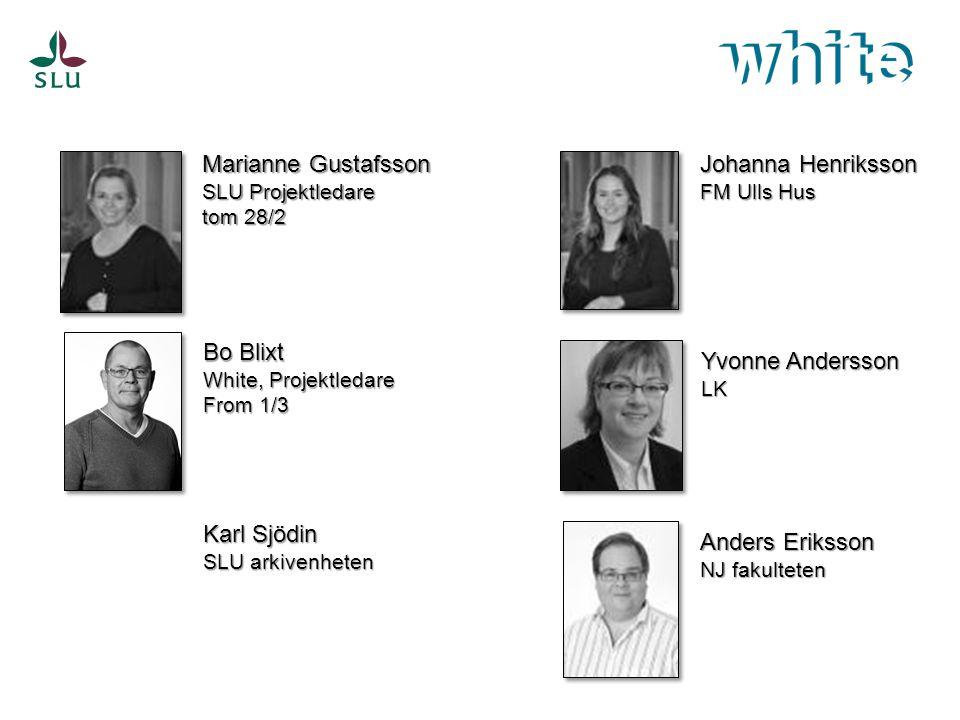 Magdalena Koistinen WhiteTeknikagronom Projekt- och projekteringsledare i 18 år Sarah Jonsson Norling WhiteByggnadsingenjör Bitr.