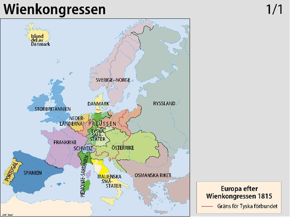 Vissa folk splittrade i småstater Andra ingick i multi-nationalstater  Förena eller bryta sig loss