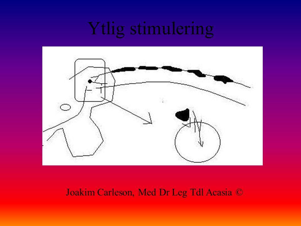 Ytlig stimulering Joakim Carleson, Med Dr Leg Tdl Acasia ©