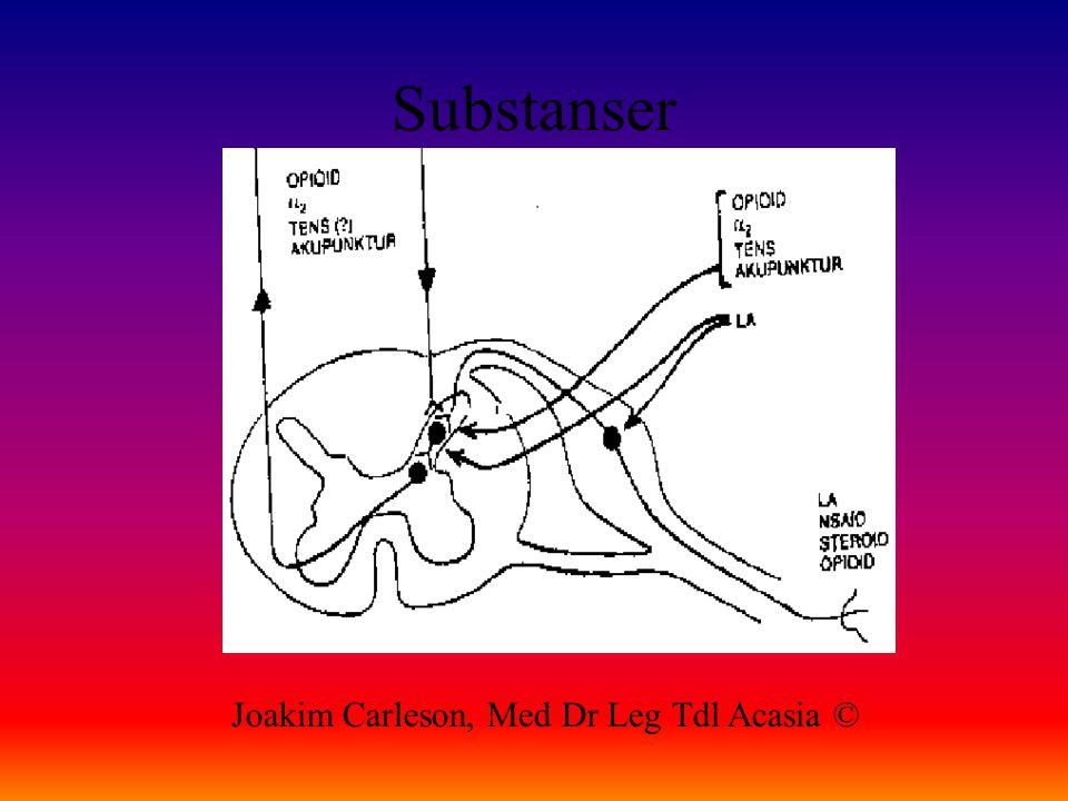 Substanser Joakim Carleson, Med Dr Leg Tdl Acasia ©