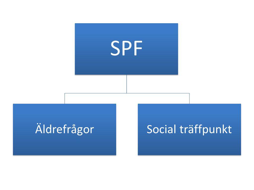 SPF ÄldrefrågorSocial träffpunkt