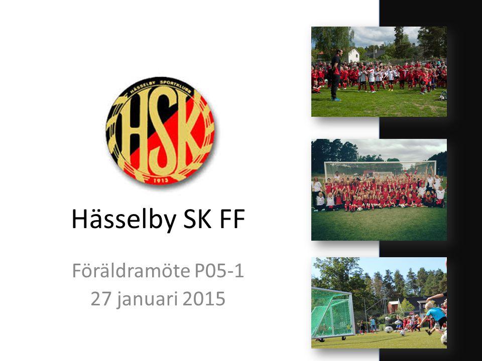 Hässelby SK FF Föräldramöte P05-1 27 januari 2015