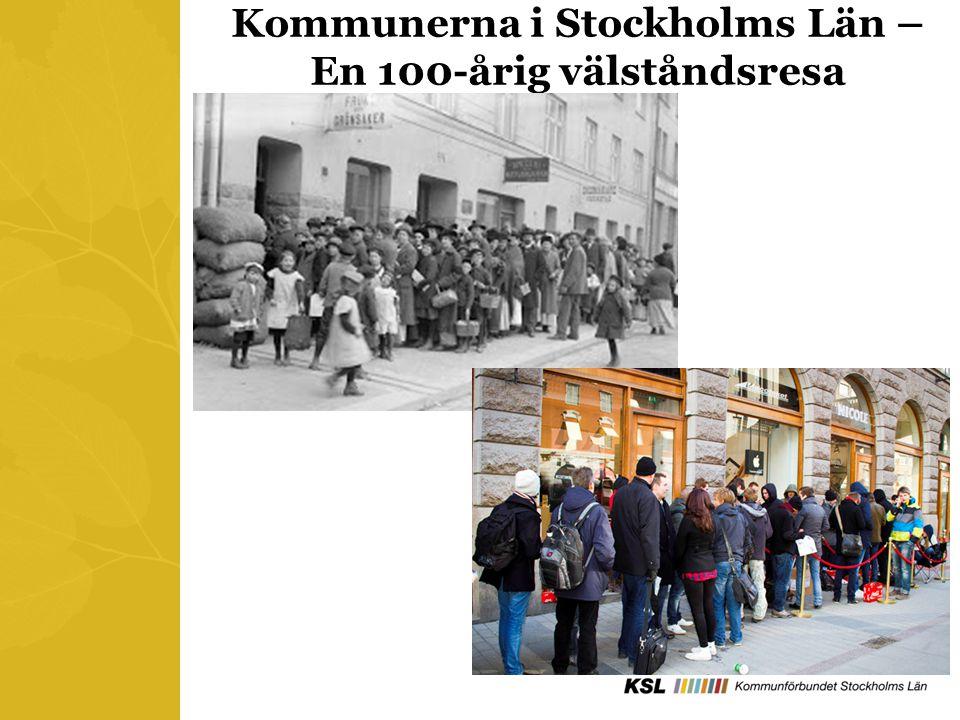 Kommunerna i Stockholms Län – En 100-årig välståndsresa