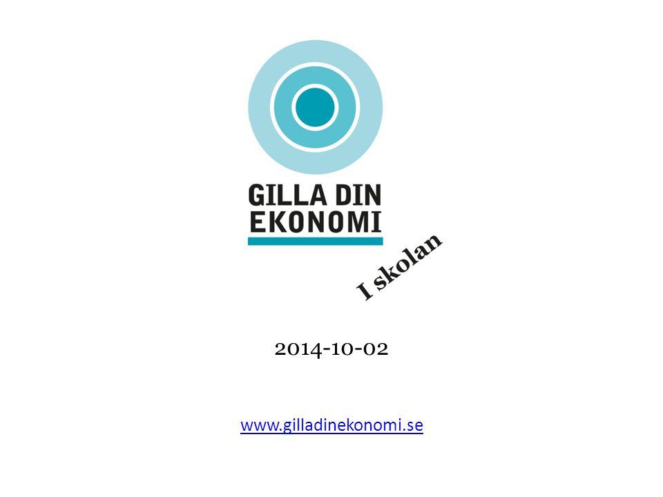 2014-10-02 www.gilladinekonomi.se