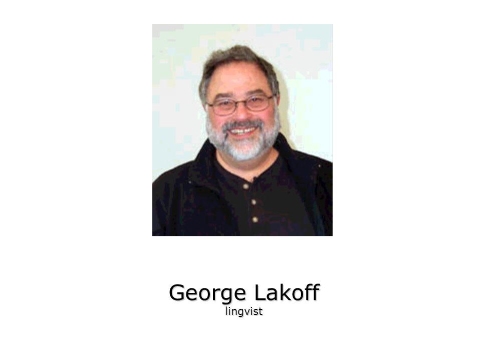 George Lakoff lingvist