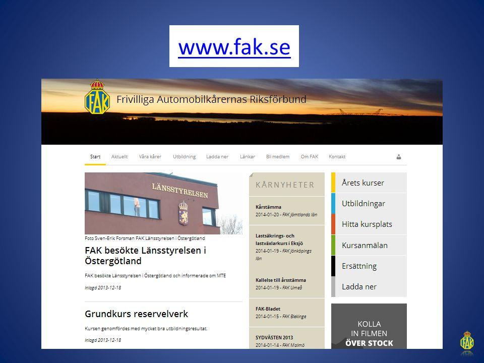 FAK insats kris FAK har även haft ett antal avtalsbundna medlemmar insatta under kris.