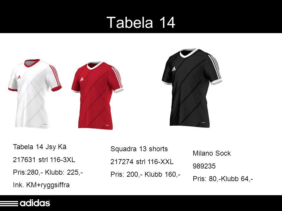 Parma Shorts / Milano Sock Parma shorts 982220 XXS-XXXL Pris: 180,- Klubb 144,- Milano Sock 989235 Pris: 80Klubb 64,-