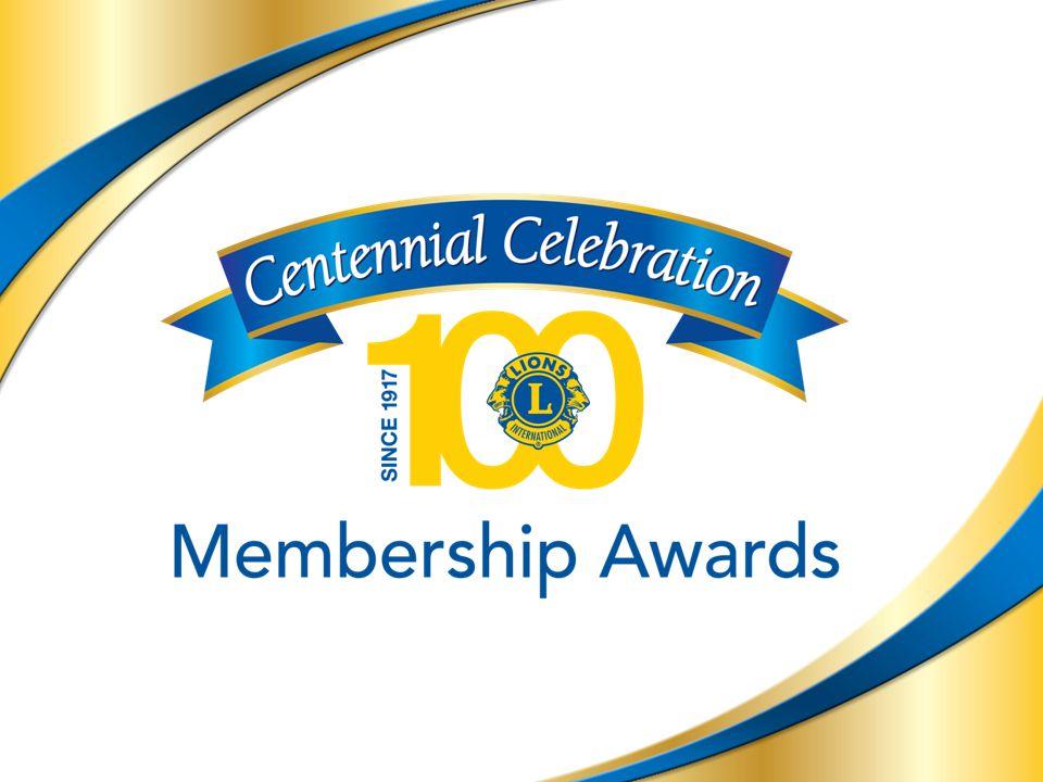 14 Klubbutmärkelser 14 Erkänslan till klubbar är progressiv och visar erkänsla för klubbtillväxt och extension.