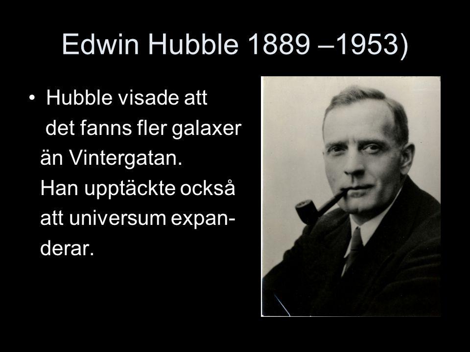 Stephen Hawking 1942- Har t ex sagt att svarta hål kan stråla ut energi s.k.