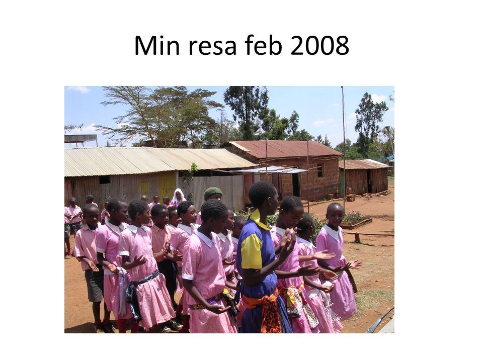 Min resa feb 2008