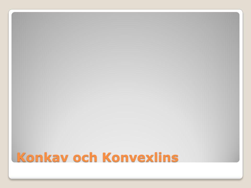 Konkav och Konvexlins