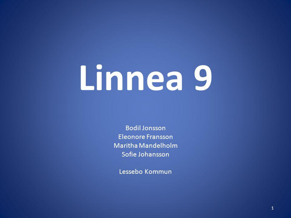 Linnea 9 Bodil Jonsson Eleonore Fransson Maritha Mandelholm Sofie Johansson Lessebo Kommun 1