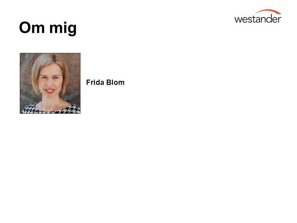 Om mig Frida Blom